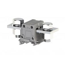 304320, Силовой клеммник на DIN-рейку 240 мм.кв., болт., (серый); AVK240 B (упак 4 шт)