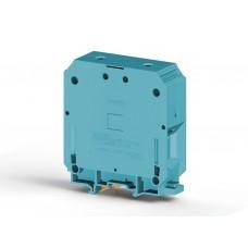 304351, Клеммник на DIN-рейку 150мм.кв. (синий); AVK150 (упак 4)