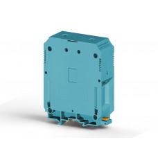 304361, Клеммник на DIN-рейку 240мм.кв. (синий); AVK240 (упак 4)