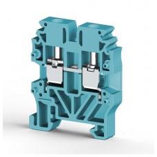 304421, Миниклеммник винтовой 2,5 мм.кв (синий); MVK2,5 (упак 100 шт)