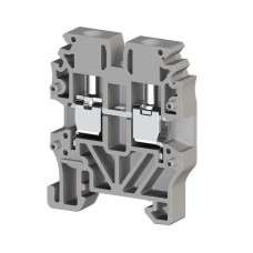 304429, Миниклеммник винтовой 2,5 мм.кв (серый); MVK2,5 (упак 100)