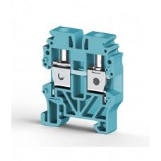 304431, Миниклеммник винтовой 4 мм.кв. (синий); MVK4 (упак 100)