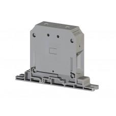 304460, Клеммник на монтажную плату 95 мм.кв. (серый); AVK PB 95 RD (упак 6 шт)