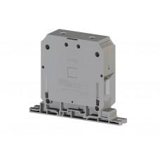 304470, Клеммник на монтажную плату 150 мм.кв. (серый); AVK PB 150 (упак 4 шт)