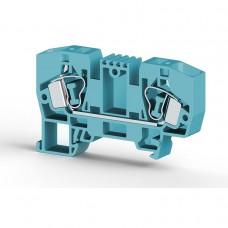 Клеммник пружинный 10мм.кв. (синий); YBK10 (упак. 100 шт.); 306251