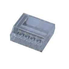 425255, Клеммный соединитель в корпусе 5 х 2,5 мм.кв., (прозрачный); BUK2,5/5 (упак 100)