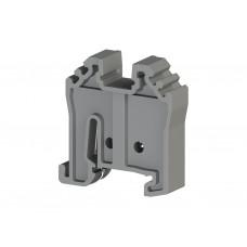 Упор на DIN-рейку MR15, (серый); KD 5 (упак. 100 шт.); 495069