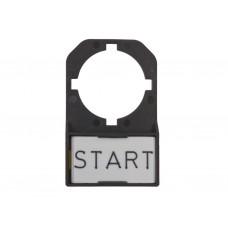 Держатель маркировок д/кнопок BEK S (упак 100); 508704