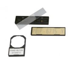 508813, Прозрачная защитная пленка для маркировки 27х15мм; PBKP 2715 (упак 192 шт)
