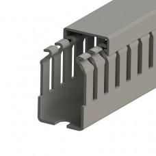 Кабель-канал перфорированный с крышкой, 25x40 (ШxВ), (упак. 100м); KKC 2540; 551011