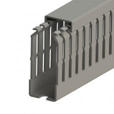 Кабель-канал перфорированный с крышкой, 25x60 (ШхВ), (упак. 60м); KKC 2560; 551012