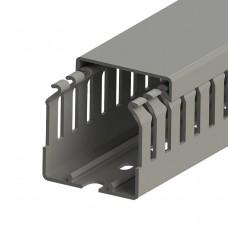 Кабель-канал перфорированный с крышкой, 40x40 (ШхВ), (упак. 52м); KKC 4040; 551013