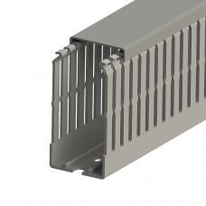 Кабель-канал перфорированный с крышкой, 40x80 (ШхВ), (упак. 40м); KKC 4080; 551015