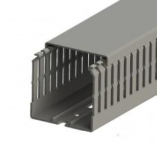 Кабель-канал перфорированный с крышкой, 60x60 (ШхВ), (упак. 24м); KKC 6060; 551017