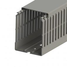 Кабель-канал перфорированный с крышкой, 60x80 (ШхВ), (упак. 24м); KKC 6080; 551018