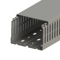 Кабель-канал перфорированный с крышкой, 80x60 (ШхВ), (упак. 28м); KKC 8060; 551019