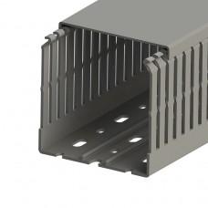 Кабель-канал перфорированный с крышкой, 80x80 (ШхВ), (упак. 24м); KKC 8080; 551020