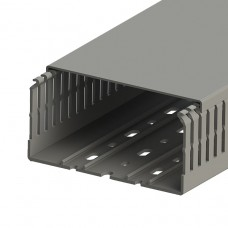 Кабель-канал перфорированный с крышкой, 120x60 (ШхВ), (упак. 16м); KKC 1206; 551023