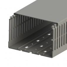 Кабель-канал перфорированный с крышкой, 120x80 (ШхВ), (упак. 12м); KKC 1208; 551024