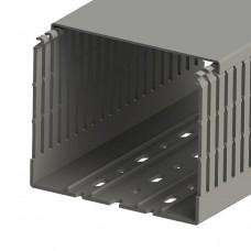 Кабель-канал перфорированный с крышкой, 120x100 (ШхВ), (упак. 20м); KKC 1201; 551025
