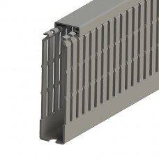 551031, KKC 2510; Перфорированный короб, 25x100 (ШxB) Серый (упак 44)