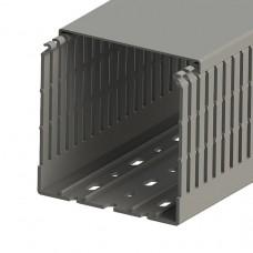 551036, KKC 1001; Кабель-канал перф. с крышкой, 100x100 (ШхВ), (упак. 24м); (упак 24 м) (12 шт)