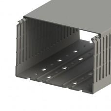 Кабель-канал перфорированный с крышкой, 150x100 (ШхВ), (упак. 16м); KKC 1501; 551040