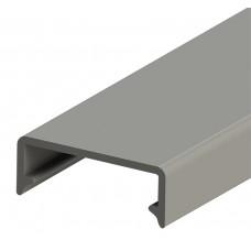 Крышка для кабель канала шириной 25 мм, длина 2 м, (упак. 20м); KKK 25; 551050