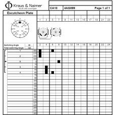 Переключатель CA10-4AG899-600 FT3 +S0 M470/A1A