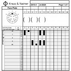Переключатель DH10-1 A-G926-603 KN1F +S1 M470/A1A6 +G211