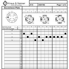 Переключатель A14 A5A162-600 E +F001 +G411