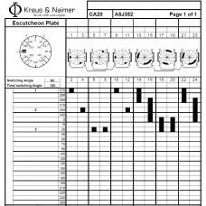 Переключатель CA20-A5J352 *FT +S0 Q110/1