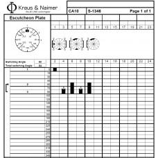Переключатель CA10 S-1346-600 FT3