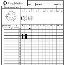 Переключатель DH11-SF3831-600 FT2 +S0 V845/A11/D11
