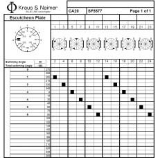 Переключатель CA20-SF5577-600 FT2 +F004