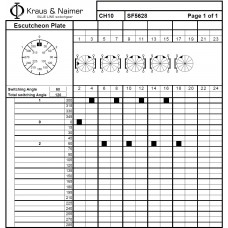 Переключатель CH10-SF5628-600 EF