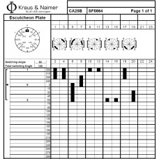 Переключатель CA25B-SF5664-600 EF