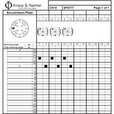 Переключатель CH10-SF5777 EF