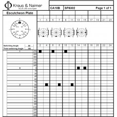 Переключатель CA25B-SF6302-600 E +F057