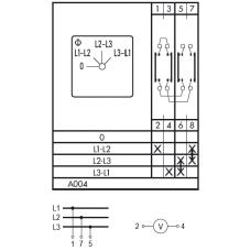 Переключатель CA10-A004-600 ED