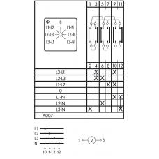 Переключатель A11 A007-600 E