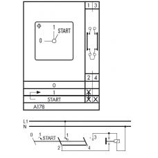 Переключатель AD12-A178-600 EF