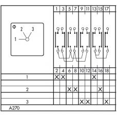 Переключатель CAD11-A270-600 ED +M999/470 +F735