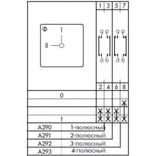 Переключатель CA10-1-A292-600 FT2