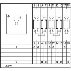Переключатель CH10-A369-600 FT2 +S0 F991/000-E1L