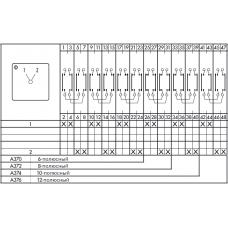 Переключатель CA25B-A370-600 EF +M999/472 +F754