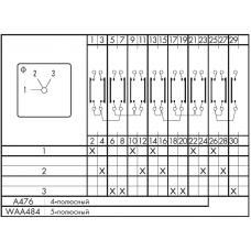 Переключатель CA10 A476*FT +S0E T170 K +S0 M999/472 +S0 F990/A10-E1L