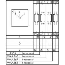 Переключатель CH10-A565*FT +S0 Q110/2