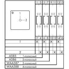Переключатель CA10 A585 EF + F*SFA1312