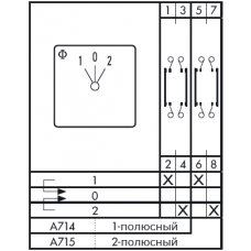 Переключатель CH10-A715 EF F*SFA941 G251
